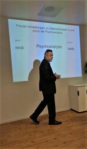 """""""Einflüsse und Ideenverläufe in Freuds Denken""""@ 80 Jahre nach Freud, Symposium SFU Berlin 2019"""